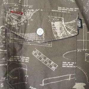 Vans Shirts - Men's Vans collared shirt